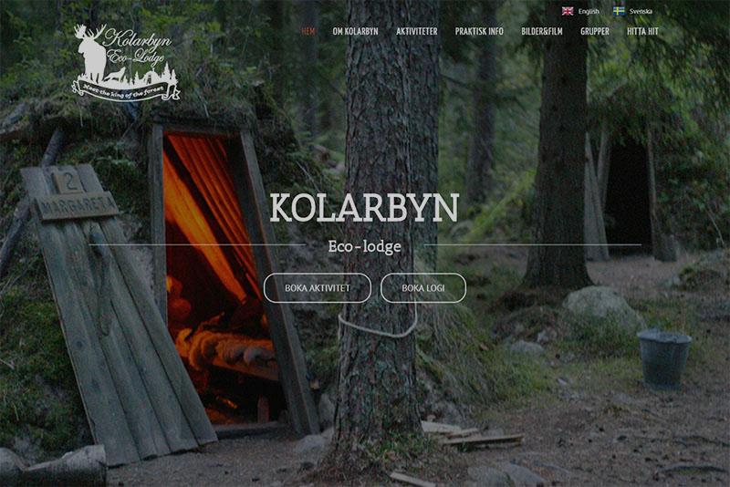 Webbyrå Eskilstuna Webbproduktion Kolarbyn
