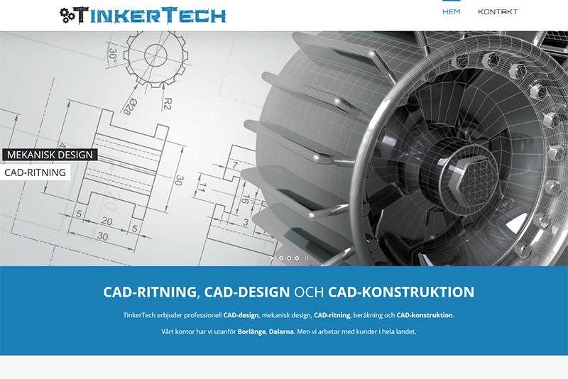 Webbyrå Västerås Webbproduktion TinkerTech