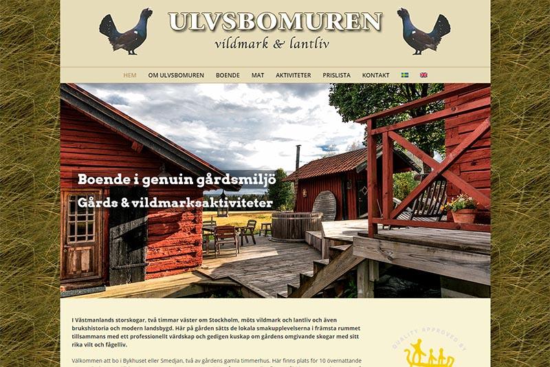 Webbyrå Västerås Webbproduktion Ulvsbomuren